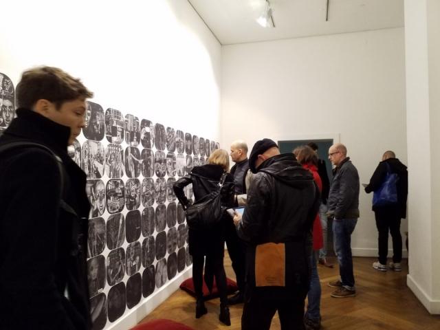 20171103_193820THE DESIRE CALLED UTOPIA AND OTHER SCIENCE FICTIONS, Graphic Novel 2048- When It All Began at Nassauischen Kunstverein Wiesbaden. Photo: Zelin Seah